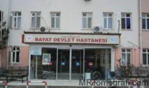Çorum Bayat Devlet Hastanesi