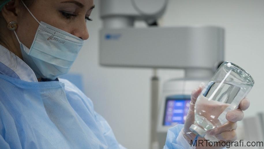 İlaçlı tomografisinde kullanılan X-M Diet