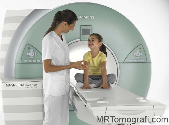 Bebeklerde MR çekimi